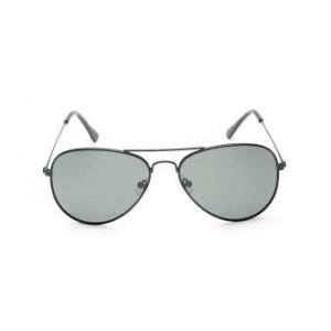 Fastrack M138GR5P Black Metal Sunglasses
