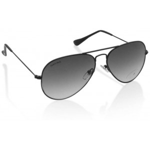 Fastrack M165BK6 Black Metal Sunglasses
