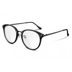 FEISEDY Women Vintage Glasses Frames Round Non Prescription Eyewear Clear Lens B2260