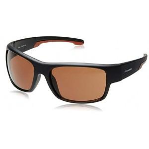 Fastrack P314BR3 Black/Brown Sheet Sunglasses