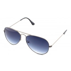 Fastrack M165BU35 Gray Metal Glasses