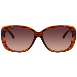 Fastrack P253BR1F Brown Sheet Sunglasses